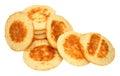 Small Blini Pancakes Royalty Free Stock Photo