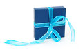 Small blue box Royalty Free Stock Photos
