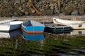 Small Boats at a Dock Royalty Free Stock Photo