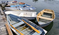 Small Boats at a Dock Royalty Free Stock Photo
