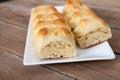 Small bread like pastry Royalty Free Stock Photo
