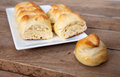 Small bread like pastry Royalty Free Stock Photo