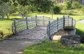 Small bridge Royalty Free Stock Images