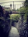 Small medievil bridge Royalty Free Stock Photo