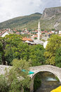 Small Bridge in Mostar Royalty Free Stock Photo