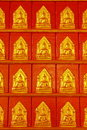 Small Buddha images Royalty Free Stock Photography