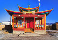 Small buddhist temple Stock Photo