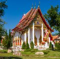 Small buddhist temple in phuket thailand