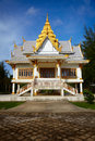 Small Buddhist temple. Surin, Thailand Royalty Free Stock Image