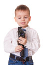 Small cameraman Stock Images