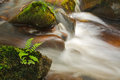 Small cascade on the river Wharfe Stock Image