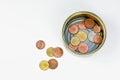Small change Stock Photo