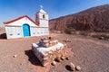 Small Chapel in Atacama Desert Royalty Free Stock Photo