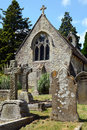 Small chapel in Lyndhurst in the New Forest Royalty Free Stock Photo