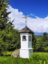 Small chapel in suwalszczyzna poland region of hills and lakes Stock Photo