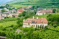 Small chateau in wachau a vineyard of lower austria Royalty Free Stock Image