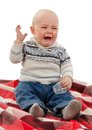 The small child cries Royalty Free Stock Images