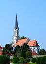 Small church near Schonbrunn Royalty Free Stock Image