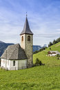 Small church in south tyrol italy northern Stock Image