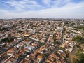 Small cities in South America Royalty Free Stock Photo