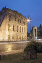 The small coliseum rome near piazza del campidoglio italy Royalty Free Stock Image