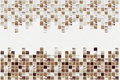 Small colored decorative tiles, mosaic Royalty Free Stock Photo