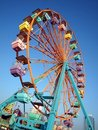 Small Colorful Ferris Wheel Stock Photos