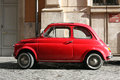 Small compact vintage car Royalty Free Stock Photo