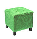 Small cube Pouffe Royalty Free Stock Photos