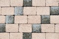 Small dark and light bricks wall texture Royalty Free Stock Photo