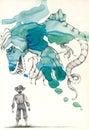 Small Dragon Illustration