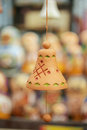 Small earthen bell Royalty Free Stock Photo