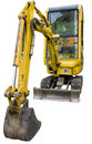Small excavator Stock Photography
