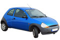 A Small Family Hatchback Car. Isolated On A White Background. Also The PNG File Is Enclosed With A Clear Background