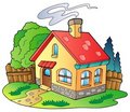 Small family house Royalty Free Stock Image