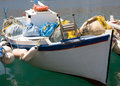 Small fishing boat Royalty Free Stock Photography