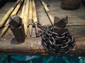 Small fishing boat Royalty Free Stock Photo