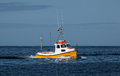 Small fishing boat Royalty Free Stock Photo