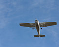 Small fixed wing plane Royalty Free Stock Images
