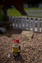 Small garden gnome Royalty Free Stock Photo