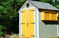 Small Garden Shed Royalty Free Stock Photo