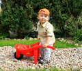 Small gardener Stock Photos