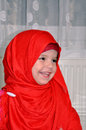 Small girl with hijab Royalty Free Stock Photo