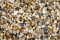 Small gravel stone texture Royalty Free Stock Photo