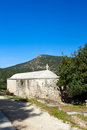 Small greek cypriot church in cyprus Royalty Free Stock Photo