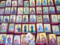 Small Greek Orthodox Icons Royalty Free Stock Photo