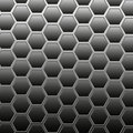 Small grid on a gray background Royalty Free Stock Image