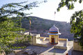 Small hindu templ in Nahargarh fort, Jaipur, India Stock Image