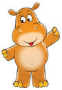 Small hippopotamus Stock Photos