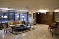 Small hotel lobby Royalty Free Stock Photo